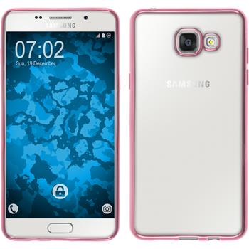 Silicone Case for Samsung Galaxy A5 (2016) A510 Slim Fit hot pink