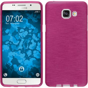 Silicone Case for Samsung Galaxy A5 (2016) brushed hot pink