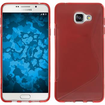 Silicone Case for Samsung Galaxy A5 (2016) S-Style red