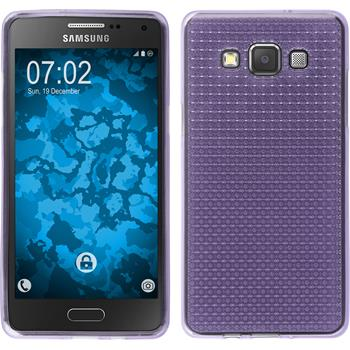 Silicone Case for Samsung Galaxy A5 (A500) Iced purple