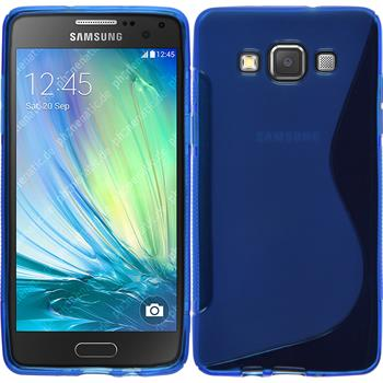 Silicone Case for Samsung Galaxy A5 S-Style blue