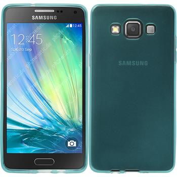 Silicone Case for Samsung Galaxy A5 transparent turquoise