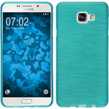 Silicone Case for Samsung Galaxy A7 (2016) brushed blue