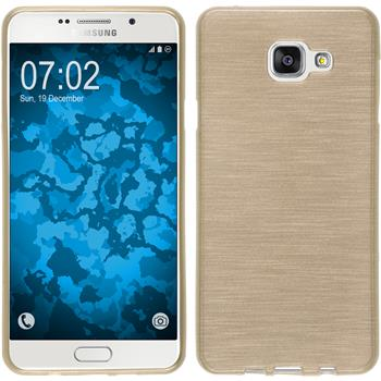 Silicone Case for Samsung Galaxy A7 (2016) brushed gold