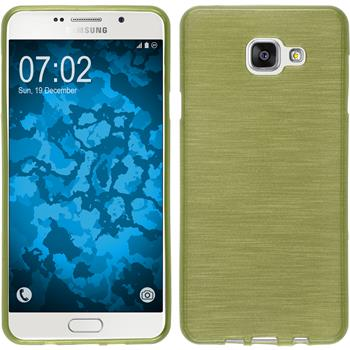 Silicone Case for Samsung Galaxy A7 (2016) brushed pastel green