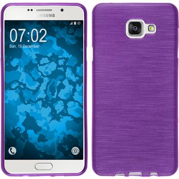 Silicone Case for Samsung Galaxy A7 (2016) brushed purple