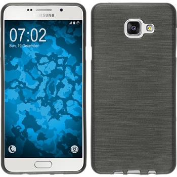 Silicone Case for Samsung Galaxy A7 (2016) brushed silver