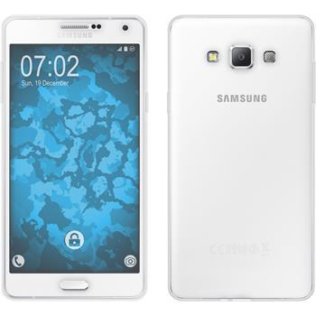 Silicone Case for Samsung Galaxy A7 (A700) 360° Fullbody transparent
