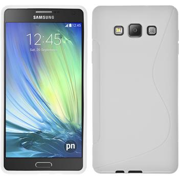 Silicone Case for Samsung Galaxy A7 S-Style white