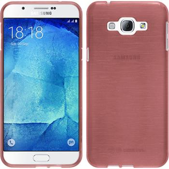 Silicone Case for Samsung Galaxy A8 brushed pink