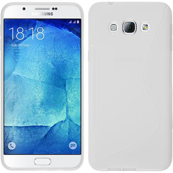 Silicone Case for Samsung Galaxy A8 S-Style white