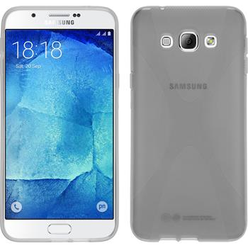 Silicone Case for Samsung Galaxy A8 X-Style transparent