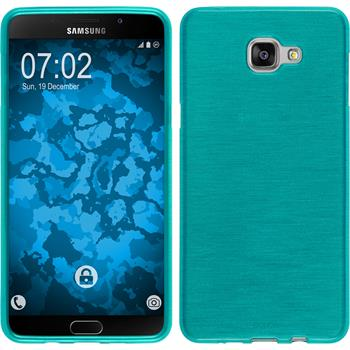 Silicone Case for Samsung Galaxy A9 (2016) brushed blue