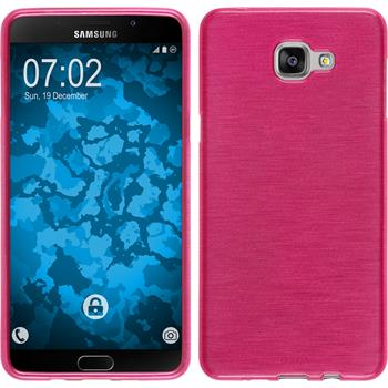 Silicone Case for Samsung Galaxy A9 (2016) brushed hot pink