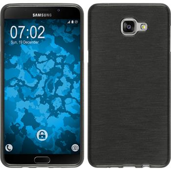 Silicone Case for Samsung Galaxy A9 (2016) brushed silver