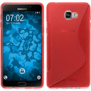 Silicone Case for Samsung Galaxy A9 (2016) S-Style red