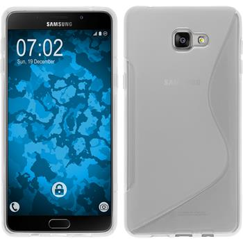 Silicone Case for Samsung Galaxy A9 (2016) S-Style transparent