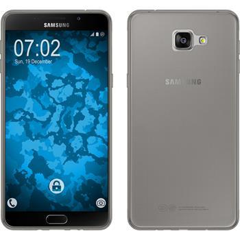 Silicone Case for Samsung Galaxy A9 (2016) Slimcase gray