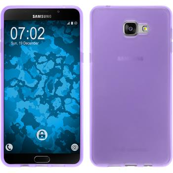 Silicone Case for Samsung Galaxy A9 transparent purple