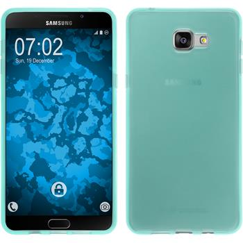 Silicone Case for Samsung Galaxy A9 transparent turquoise