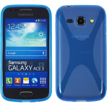 Silicone Case for Samsung Galaxy Ace 3 X-Style blue