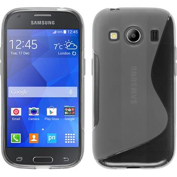 Silicone Case for Samsung Galaxy Ace 4 S-Style transparent