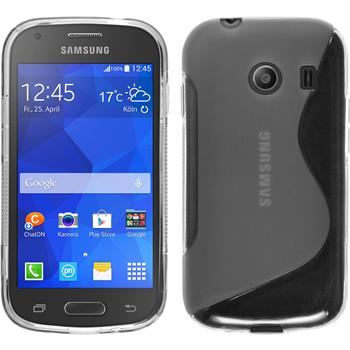 Silicone Case for Samsung Galaxy Ace Style S-Style transparent