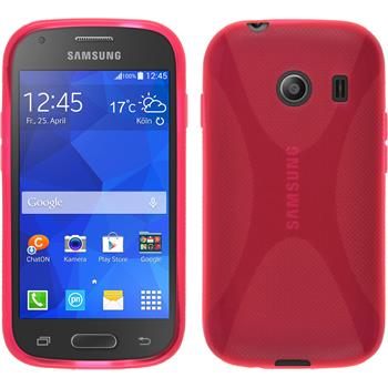 Silicone Case for Samsung Galaxy Ace Style X-Style hot pink