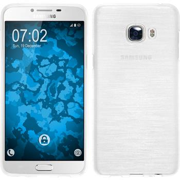 Silicone Case for Samsung Galaxy C5 brushed white