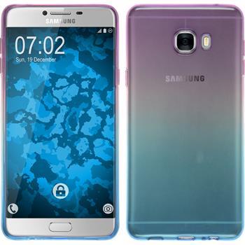 Silicone Case for Samsung Galaxy C7 Ombrè Design:04
