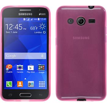 Silicone Case for Samsung Galaxy Core 2 transparent pink