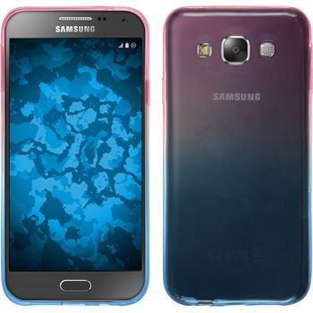 Silicone Case for Samsung Galaxy E5 Ombrè Design:06