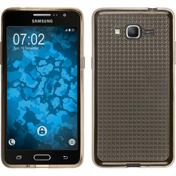 Silicone Case for Samsung Galaxy Grand Prime Iced gray