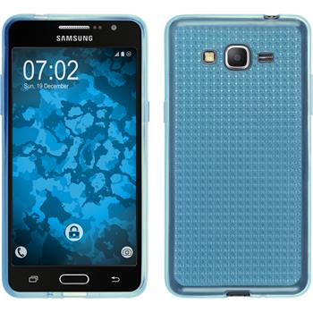 Silicone Case for Samsung Galaxy Grand Prime Iced light blue