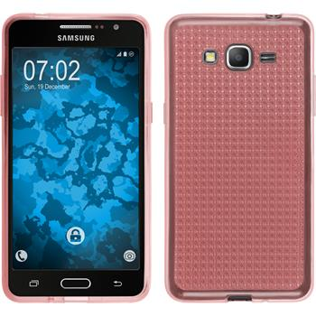 Silicone Case for Samsung Galaxy Grand Prime Iced pink