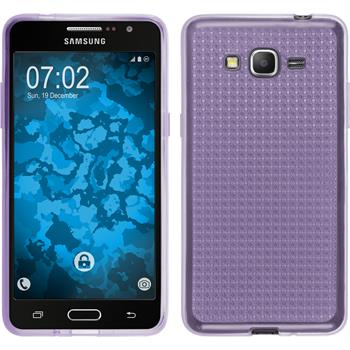 Silicone Case for Samsung Galaxy Grand Prime Iced purple