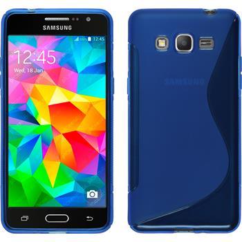 Silicone Case for Samsung Galaxy Grand Prime S-Style blue