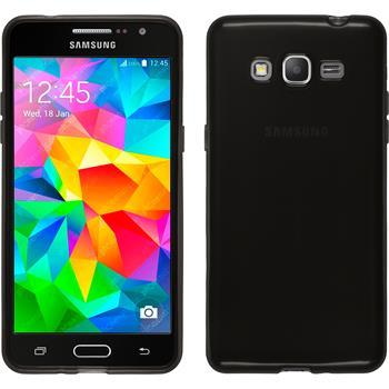Silicone Case for Samsung Galaxy Grand Prime transparent black
