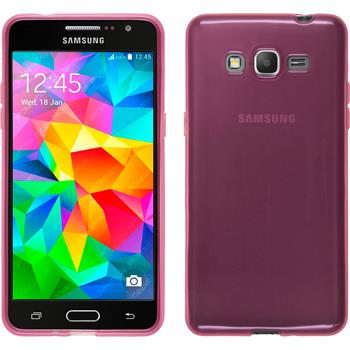 Silicone Case for Samsung Galaxy Grand Prime transparent pink