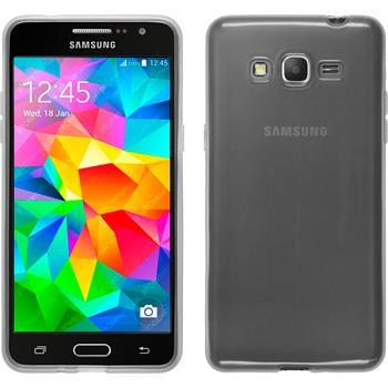 Silicone Case for Samsung Galaxy Grand Prime transparent white