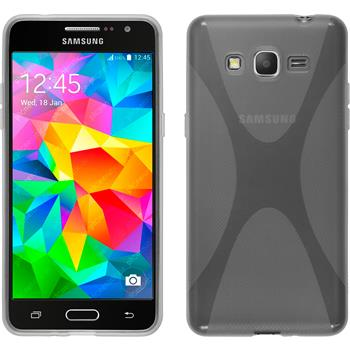 Silicone Case for Samsung Galaxy Grand Prime X-Style transparent