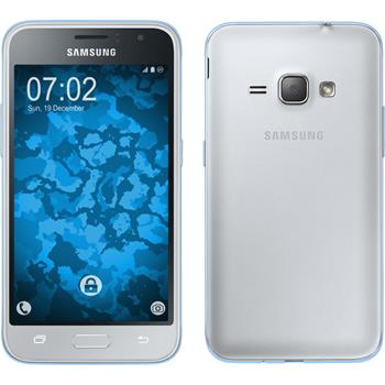 Silicone Case for Samsung Galaxy J1 (2016) J120 360° Fullbody light blue