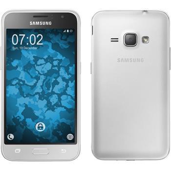 Silicone Case for Samsung Galaxy J1 (2016) J120 360° Fullbody transparent