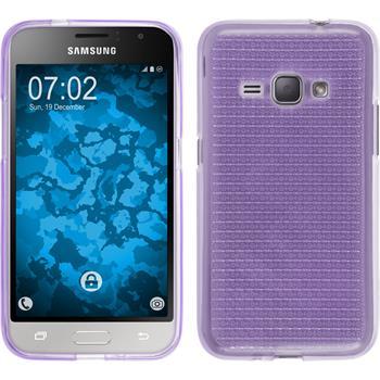 Silicone Case for Samsung Galaxy J1 (2016) J120 Iced purple