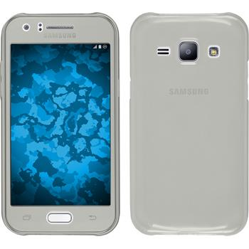 Silicone Case for Samsung Galaxy J1 (J100 2015) 360° Fullbody gray
