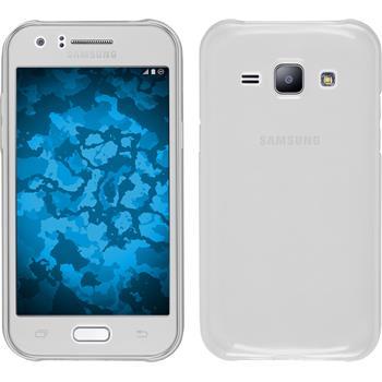 Silicone Case for Samsung Galaxy J1 (J100 2015) 360° Fullbody transparent