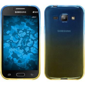 Silicone Case for Samsung Galaxy J1 Ombrè Design:02