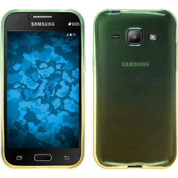 Silicone Case for Samsung Galaxy J1 Ombrè Design:03