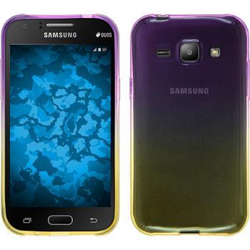 Silicone Case for Samsung Galaxy J1 Ombrè Design:05