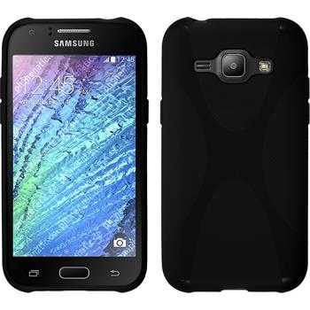 Silicone Case for Samsung Galaxy J1 X-Style black